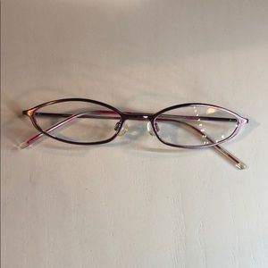 Quirky bright pink Lacoste frames